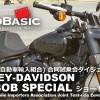 ファットボブ・スペシャル (ハーレー・ダビッドソン) バイク試乗ショートインプレ・レビュー・JAIA試乗会ダイジェスト Vol.3 HARLEY-DAVIDSON FAT BOB SPECIAL